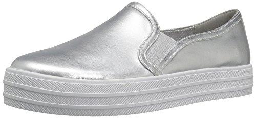 Skechers Street Frauen Double Up Fashion Sneaker Silber