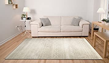 ADGO Hudson Collection Modern Geometric Striped Medallion Triangle Soft Pile Contemporary Carpet Thick Plush Stain Fade Resistant Easy Clean Bedroom Living Dining Room Floor Rug, Blue, 24' x 5' 24' x 5'