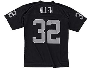Marcus Allen Oakland Raiders Black Throwback Jersey
