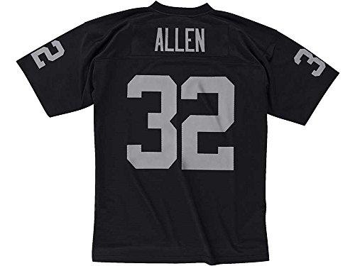 Marcus Allen Oakland Raiders Black Throwback Jersey (Raiders Throwback Jersey)