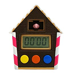 Candy House Kitchen Timer (Chocolate)