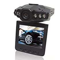 H401F 2.5 TFT Lcd HD Car Dvr Video Camera Recorder 6 IR LED Night Vision 120 Degree View Angel