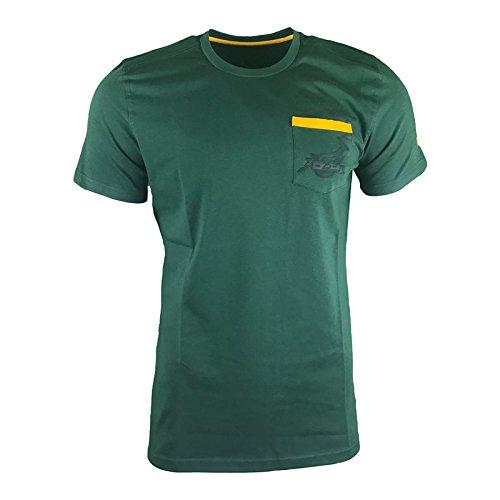 2017-2018 South Africa Springboks Casual Top (Bottle Green) B074XFH9J8 グリーン 3L