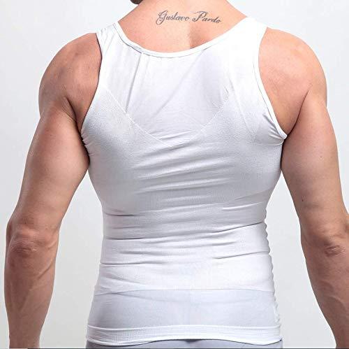 Compression Muscle Tank Mens Slimming Body Shaper Vest Shirt