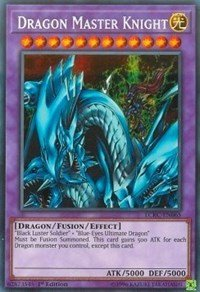 Dragon Master Knight - LCKC-EN065 - Secret Rare - 1st Edition - Legendary Collection Kaiba Mega Pack (1st Edition)