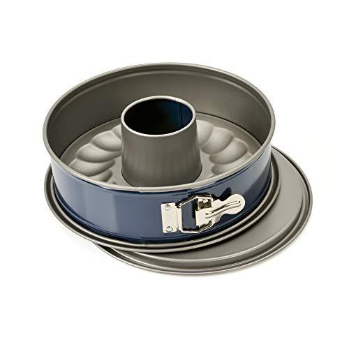 Kaiser 752099'' Engergy Springform Pan, 10.24'', 2 Base, Blue/Grey by Kaiser