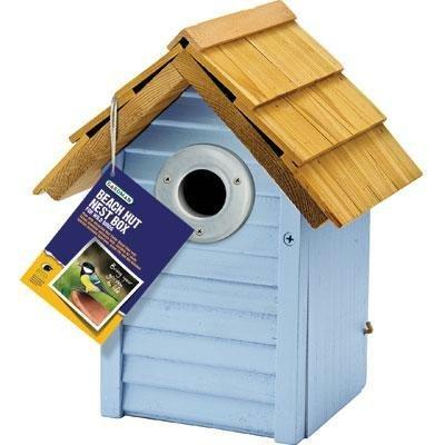 Gardman BA01681 Country Cottage Nest Box - Blue - 9.5'' H x 7'' W x 6'' L (GardmanBA01681 ) by Gardman