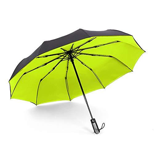 Umbrellas Rain Full-Automatic 10 RibsFolding Umbrella Big Plegable,4,France (Umbrellas Kohls Patio)