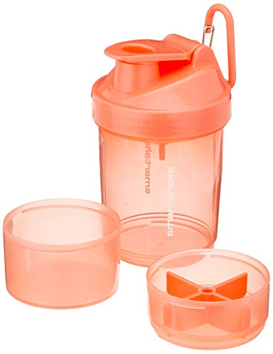 (Smartshake Original 2GO, 20 oz Shaker Cup,  Caribbean Coral (Packaging May Vary))
