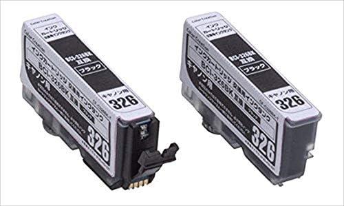 Color Creation キャノン BCI-326BK互換 インクカートリッジ ブラック 交換用タンク CF-C326BK T1