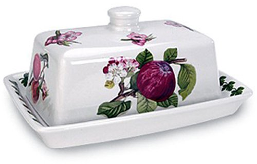 (Portmeirion Pomona Covered Butter Dish)