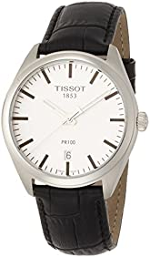 Tissot Men's Quartz Stainless Steel Casual Watch, Color:Silver-Toned (Model: T1014101603100)