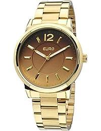 Relogio Feminino Analogico Euro Maribor Eu2035lqw 4c - Dourado 1f790d361a