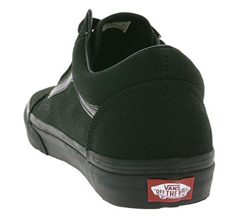 Canvas Skool black Mixte Basses Baskets Old Vans Classic Black Adulte 4gwqxt