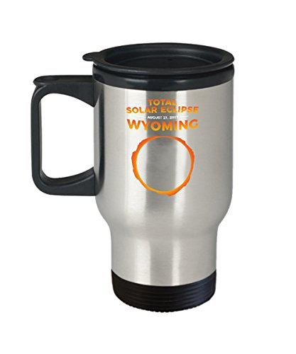2017 Solar Eclipse Wyoming Travel Mug by jeff_renshaw