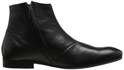H Shoes REVILLE - botines chelsea de cuero hombre Negro - negro