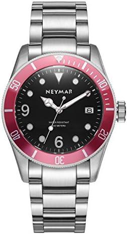 NEYMAR 41.5mm Men s Automatic Watch 300m Diver Watch 200m Stainless Steel Watch