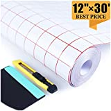 Clear Transfer Paper Tape Roll 12 Inch ×30 Feet