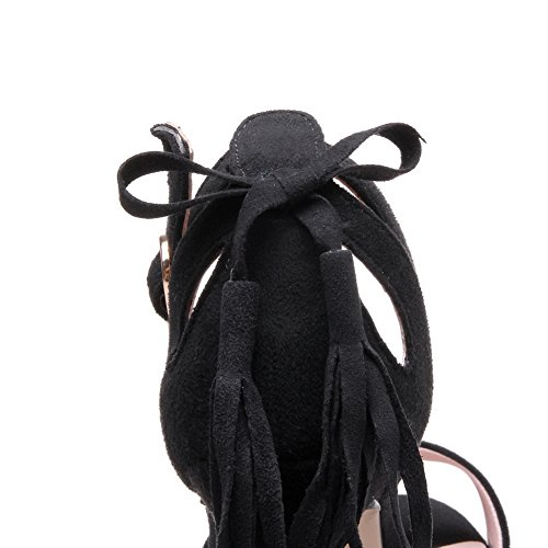 BalaMasa Noir Ouvert Femme BalaMasa Bout Bout 5f87qwTxx0