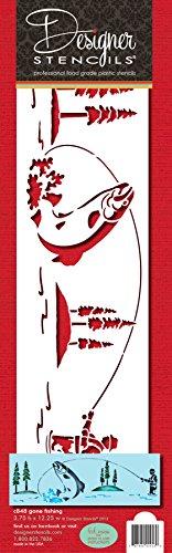 Designer Stencils C848 FBA_787484024530 foodgrade stencil, 3.75 X 12.25