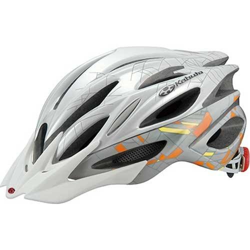 OGKカブト リガス2 レディース ジオグレーオレンジ ヘルメット S/M   B00S99PVOY
