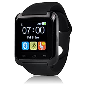 U80 Plus Bluetooth 4.0 Smart Wrist Wrap Watch Phone with Comfortable Watch Strap for Smartphones IOS Android Apple iphone 5/5C/5S/6/6 Puls Android ...