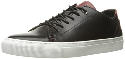 Sneaker Ted Baker Mens Kiing Fashion In Pelle Nera