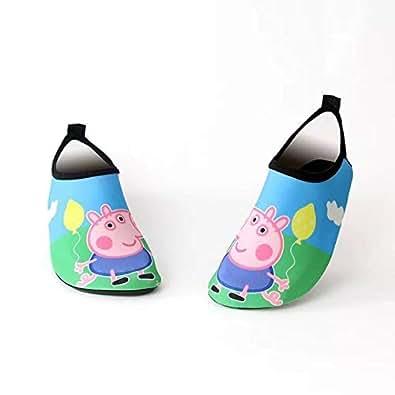 Kids Boys Girls Summer Athletic Water Shoes Aqua Socks Beach Swimming Pool