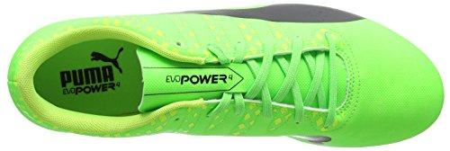 Puma Evopower Vigor 4 Sg, Botas de Fútbol para Hombre Verde (Green Gecko-puma Black-safety Yellow 01)