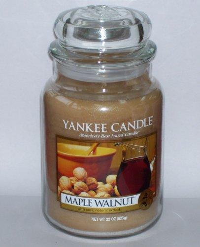 Yankee Candle Maple Walnut Large Jar Candle