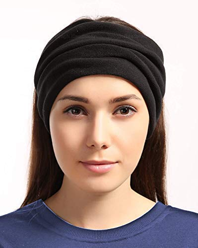 Ear Warmer Headband Performance Comfort Fleece /& Microfiber Construction Tough Headwear Ultimate Thermal Retention Fleece Neck Warmer - Reversible Neck Gaiter Tube Versatility /& Style Mask /& Beanie Solids