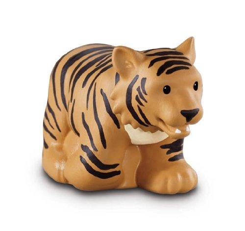 Fisher-Price–w2591–Figurine–Giocattolo di Eveil primo Age–Animali del zoo Little People–Tigre Mattel CA-W2591
