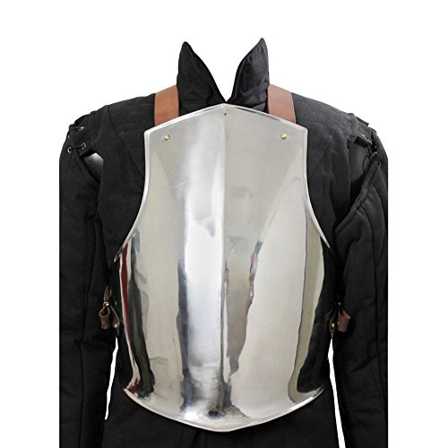 (Armor Venue: Medieval Ready For Battle Breast Plate Body Armour Steel X-Large)