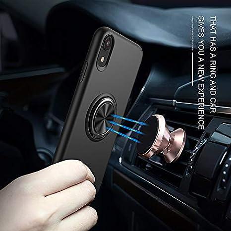 Contiene 2 Piezas Hidrogel Protector de Pantalla Liudashun Funda Huawei P30 Pro,Funda de Silicona l/íquida Soft Skin Protector Ultra Soporte de Anillo Ajustable de 360 Grados Kickstand -Azul Juvenil