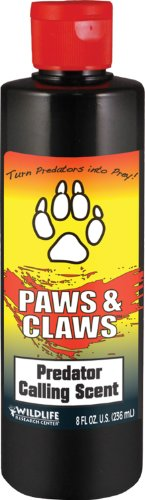 Wildlife Research 524 Paws and Claws Predator Calling Scent (8-Fluid (Predator Claw)