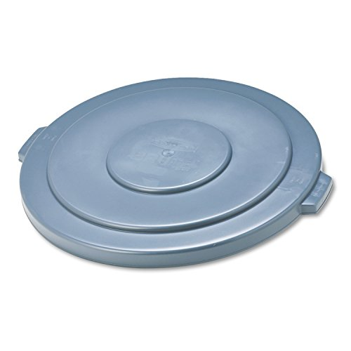 Rubbermaid Commercial Pastic Brute Lid for Trash Can, Round, 26.75