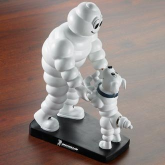 michelin-man-with-dog-bobblehead