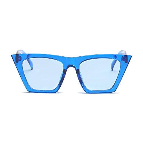 Fullfun Women Cat Eye Marine Sunglasses