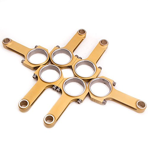 maXpeedingrods Engine Connecting Rods with ARP 2000 Bolts for Porsche 911 Carrera 3.0 (Racing - Connecting Rod 911 Porsche