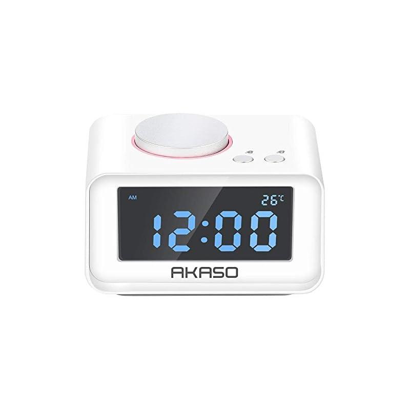Alarm Clock Radio, AKASO Digital Alarm C