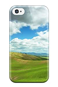 Hot Waterdrop Snap-on Cloudy World Case For Iphone 4/4s 4014892K41716944
