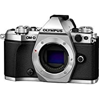 Olympus America Inc. V207040SU000 Om-D E-M5 MARK II Silver Camera Body