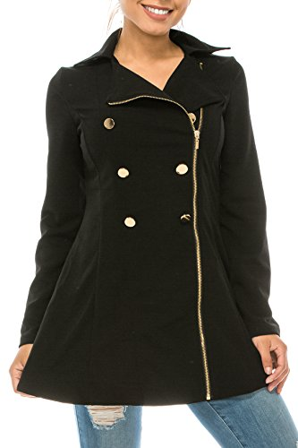 Double Breast Peacoat - 6