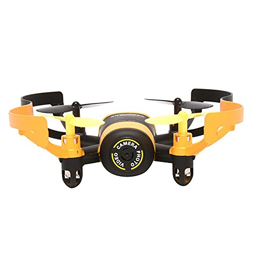 Iainstars JXD 512V Quadcopter With 0.3MP Camera Headless Mode & One Key Return(yellow by Iainstars