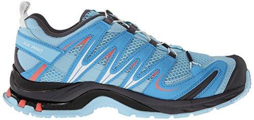 Damen Pro 3D Hellblau Traillaufschuhe Salomon Grau XA C8xnwqqR0