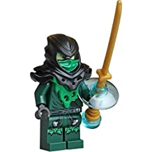 LEGO Ninjago Minifigure - Lloyd Ghost Evil Possessed with Gold Weapon (70732)
