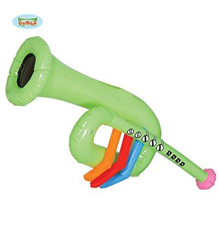 Trompeta hinchable de 64 cm: Amazon.es: Juguetes y juegos