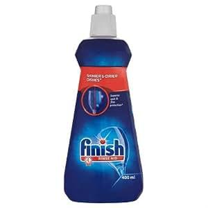 Finish Rinse Aid Regular - Shines & Dries 400ml Case of 4