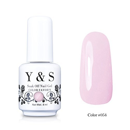 Y&S Gelpolish, Soak-off  UV LED Nail Art/Beauty Care Blush R