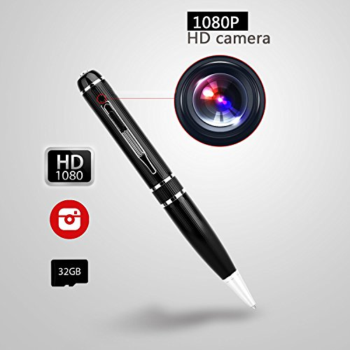 Hidden Camera Spy Gadeget 2018 Full HD 1080p 32GB Pen Cam WCXCO For Security Video Taking In Secret Camera Espion by WCXCO